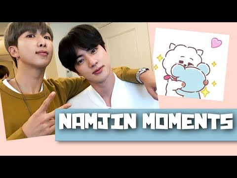 NamJin - Moments that make you fall even more in love with them