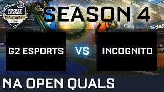 Video G2 ESPORTS vs INCOGNITO NA Open Qualifiers - RLCS S4 download MP3, 3GP, MP4, WEBM, AVI, FLV Januari 2018