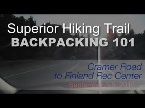 Backpacking 101 on the Superior Hiking Trail