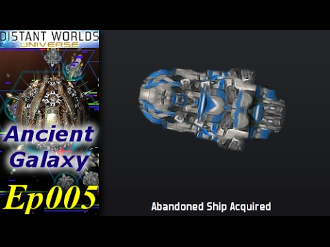 Distant Worlds - Ancient Galaxy [1/3] Ep005 - Abandoned Capital Ships