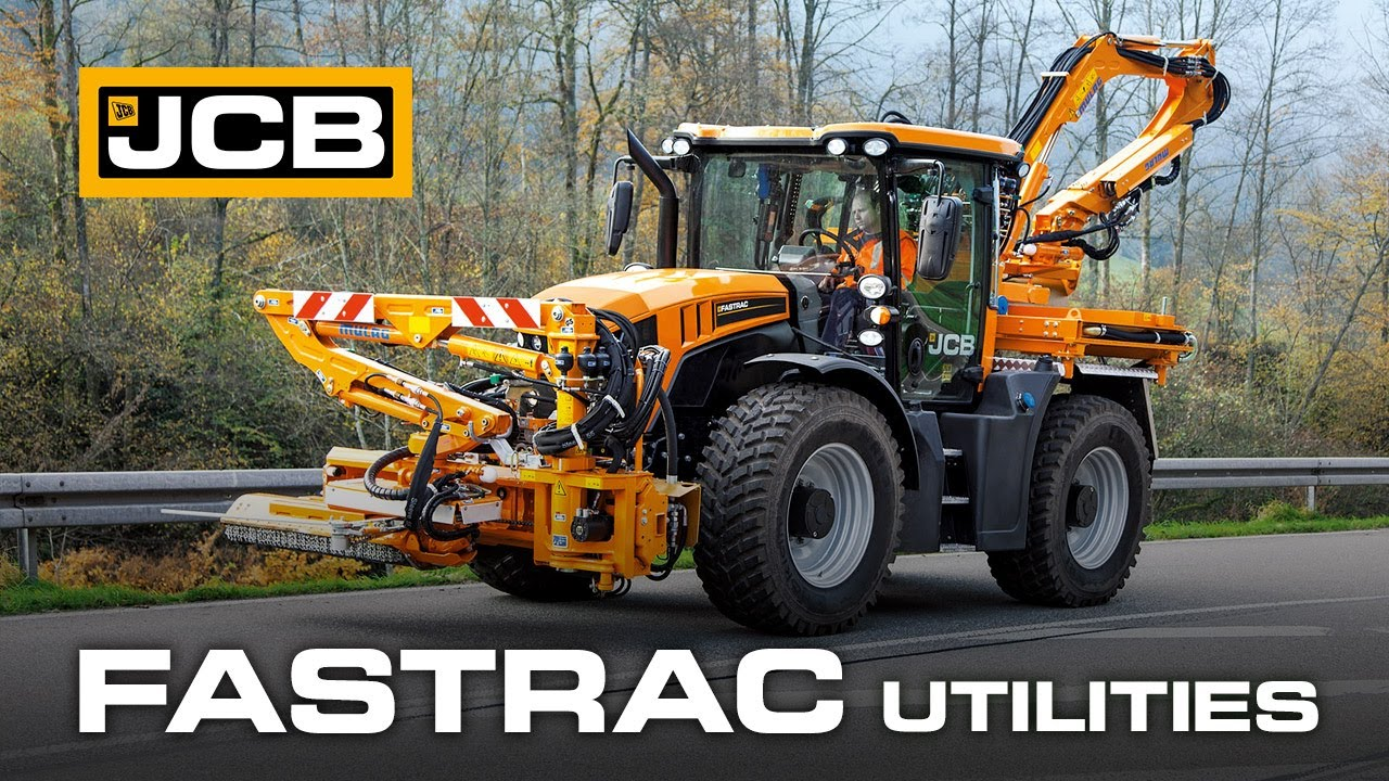 JCB Fastrac Utility - The Ultimate Multi-Purpose Tractor Tool Carrier