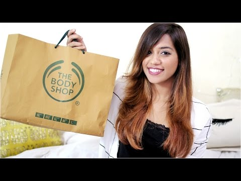 The Body Shop Haul | Debasree Banerjee