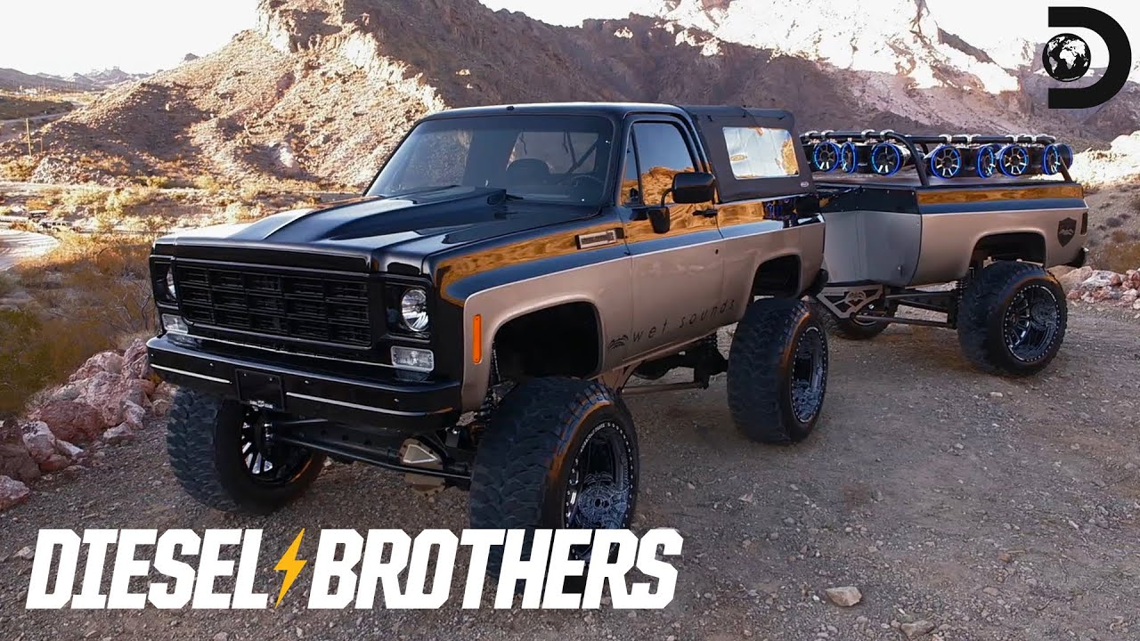 K5 Blazer With a Bass-Dropping Trailer   Diesel Brothers ...
