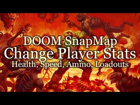 Player Health, Speed, Loadout - DOOM SnapMap Tutorial thumbnail