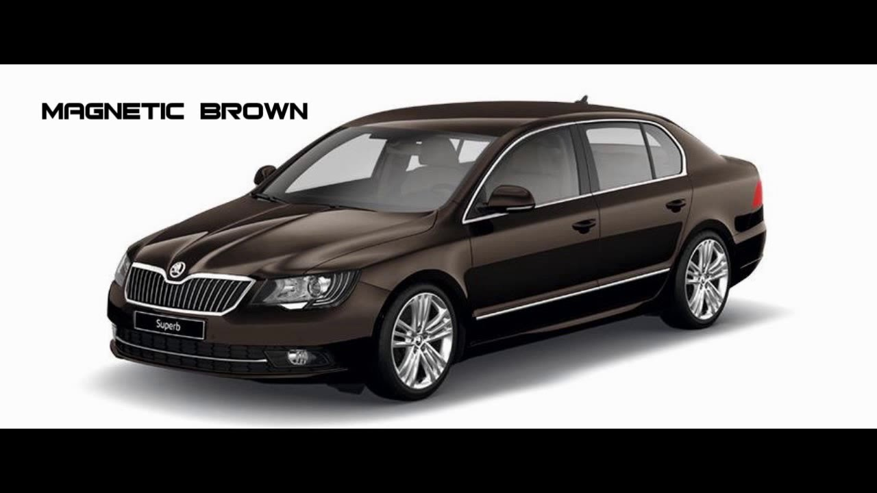 New car colors 2016 - New Skoda Superb Colours Available 2016 India