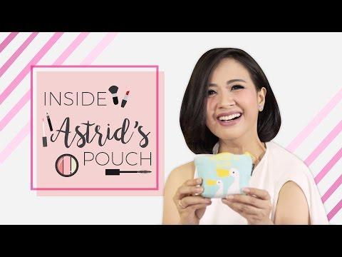 Inside Her Makeup Pouch - Astrid Sartiasari