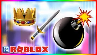 Luta de espadas e detonação de bombas na batalha de Roblox (2018 Edition)