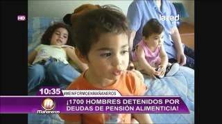 Aumentan las detenciones por deudas de pensión alimenticia