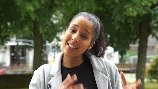 Naïga Srefel, candidate de l'écologie sociale et citoyenne pour le canton nord de Vitry