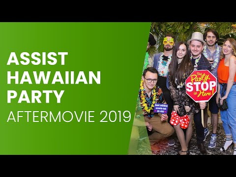 Hawaiian Christmas Party   ASSIST Software   Aftermovie (2019)