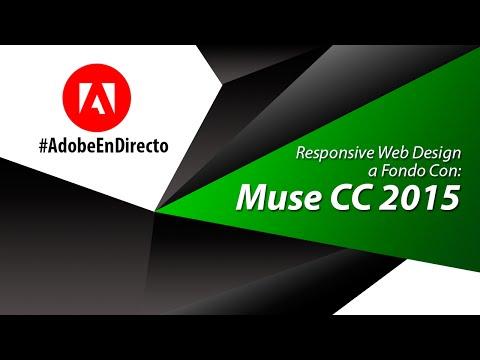 Responsive web Design a fondo (Adobe Muse CC 2015)