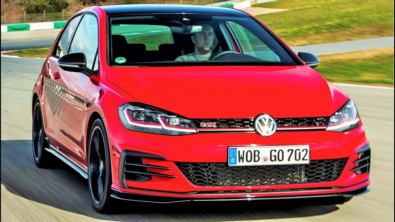 2019 Vw Golf Gti Tcr Golf With The Genes Of A Race Car Youtube
