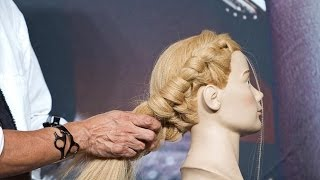 How To Create A Simple 2 Strand Braid - Slip Knot Technique