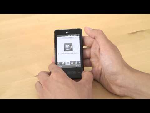 HTC HD mini Test Musikplayer