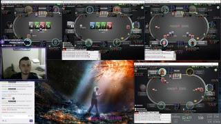 1nvoker Poker stream  zoom 500 Pokerstars cash 6 max invoker 2018 07 22  #1