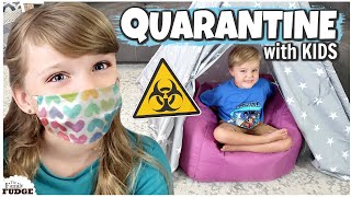 Spring Break CANCELED⚠️ Coronavirus QUARANTINE & FUN at Home Activities w/ Kids!