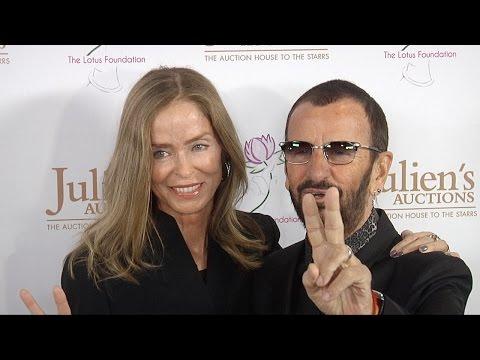 Ringo Starr, Barbara Bach, Joe Walsh at Julien