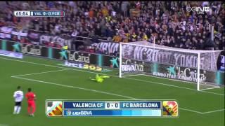 Valencia - Barcelona Highlights HD 30.11.2014
