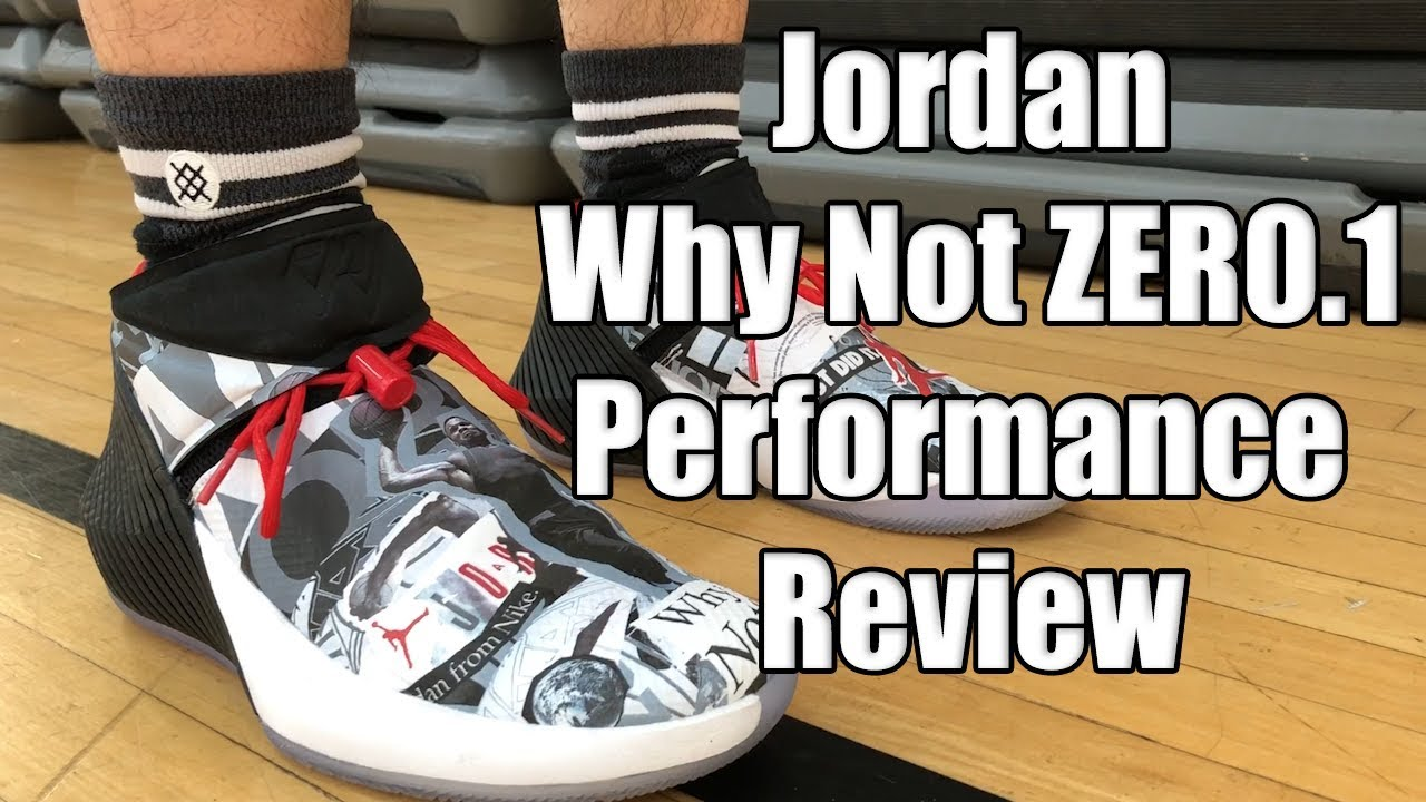 383a34624ba8bc Russell Westbrook Jordan Why Not ZERO.1 Performance Review - YouTube