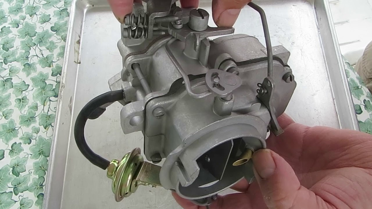 carter bbd 2 barrel carburetor choke circuit [ 1280 x 720 Pixel ]