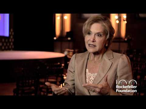Dr. Judith Rodin on Resilience -- The Rockefeller Foundation