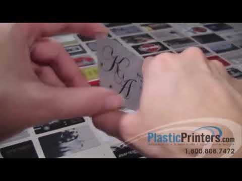 WATERMARK on a BUSINESS CARD?? - YouTube