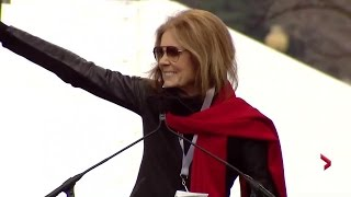 Gloria Steinem discusses political leaders, activists who have made a difference