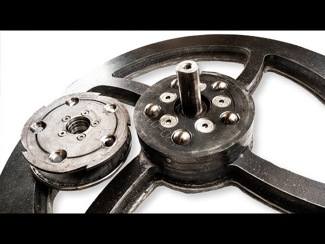 Flywheel Torque Limiter - Marble Machine X#90