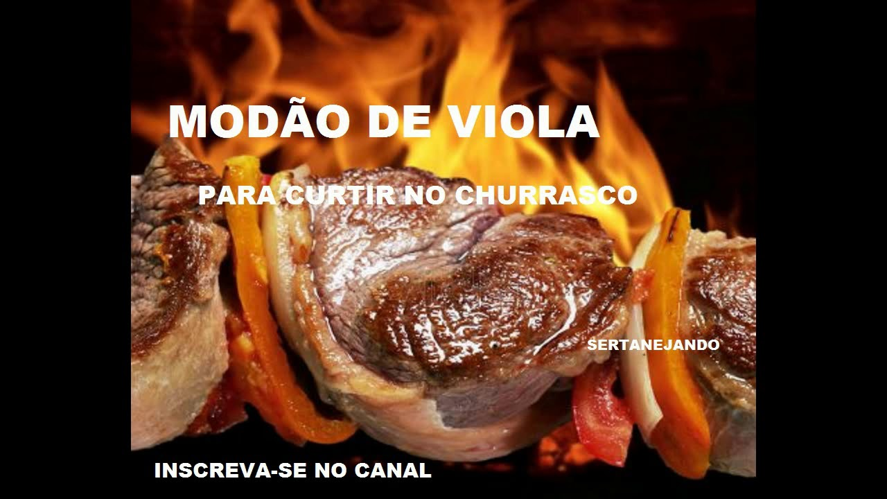 MODÃO DE VIOLA - PARA CURTIR NO CHURRASCO