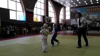 Кудо дети полуфинал первенствества Ярославля среди детей первого года обучения