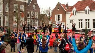 Kidz-dj - Dans demo - live - Landelijk intocht Sinterklaas 2010