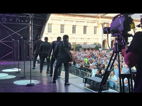 """The Jacksons """"Can You Feel It"""" live at Greenwich Music Time in London"""