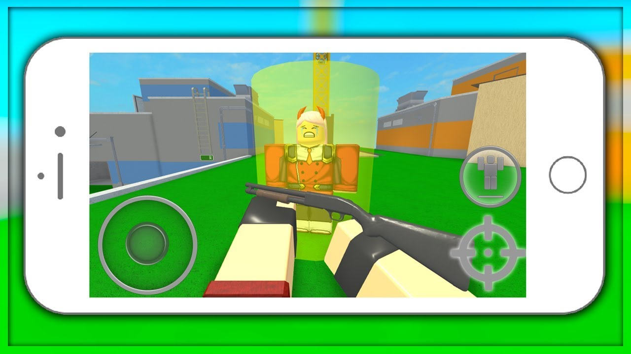 1v1ing Mobile Users In Arsenal Roblox Youtube
