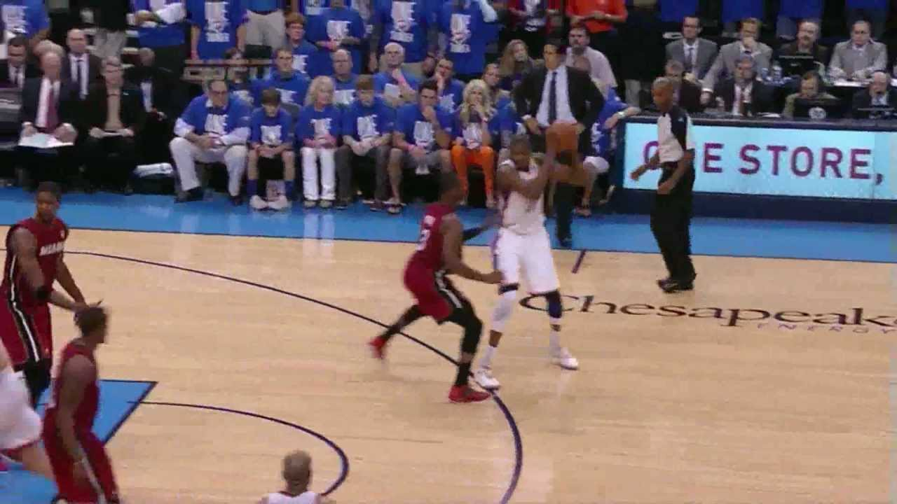 e8ee56b045ea Kevin Durant 36 points (17 in 4th quarter) vs Miami Heat full highlights  GM1 NBA FINALS 2012.06.12