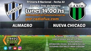 Almagro vs Nueva Chicago full match