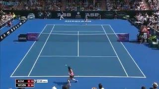 2016 WTA January Shot of the Month | Caroline Wozniacki