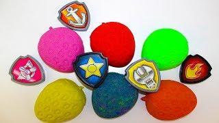 Щенячий патруль Игрушки Сюрпризы Мультики для детей Учим цвета Видео для детей Learn color with