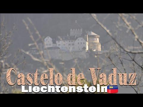 Liechtenstein, o Castelo de Vaduz   Drone footage   Felipe, o pequeno viajante