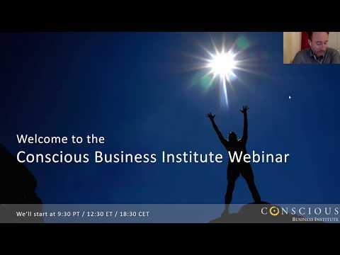 Conscious Business Webinar - November 22
