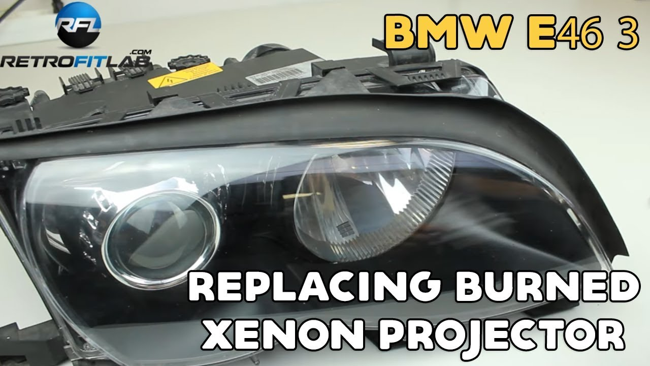 Verrassend BMW E46 3 replacing burned bi-xenon HID projector in Bosch AL KR-21