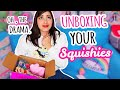 Unboxing YOUR Squishy Packages | Squishy Makeover Candidates