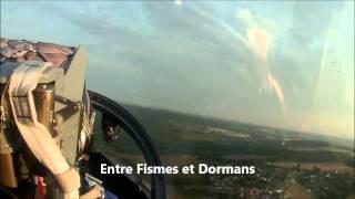 Vol en L39 ALBATROS à REIMS