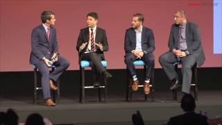 Customer Experience discussion panel at Avaya Engage