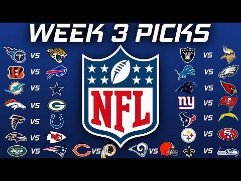 NFL Week 3 Picks 2019
