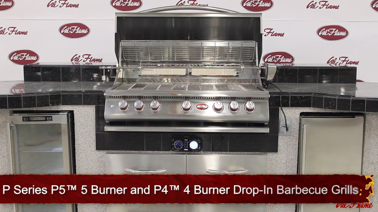 "Cal Flame BBQ Grills Cal Flame ""P Series"" Convection LP Grills P4"