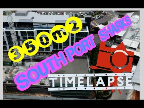 SOUTH PORT SHARKS timelapse!!  MG Constructions
