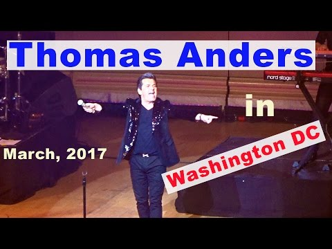 Thomas Anders And Modern Talking band Concert in Washington DC March 23, 2017