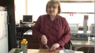 """Салат """"Нежный с куриный печенью"""""""