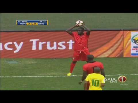 South Africa-Guinea Bissau (3-1) full match