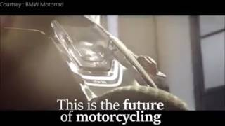 bmw future bike concept video the future is here ces 2017